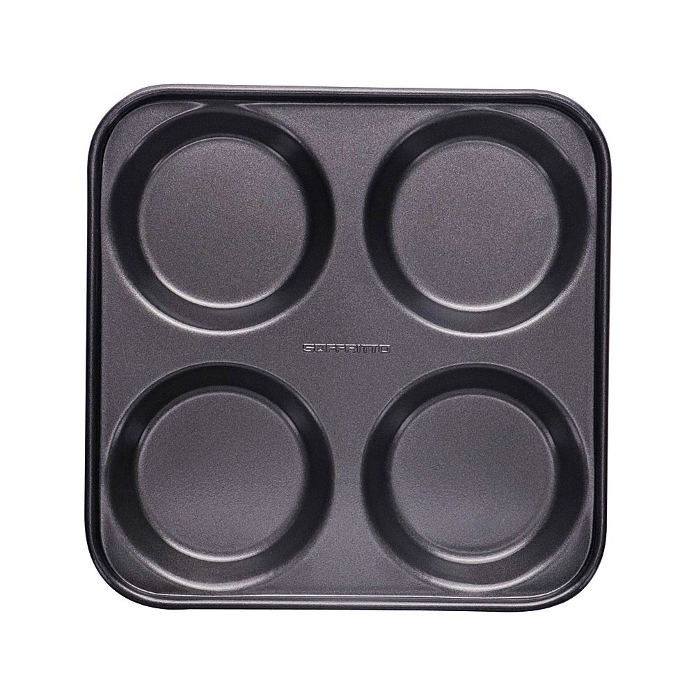 Soffritto Professional Bake 4 Cup Yorkshire Pudding Pan