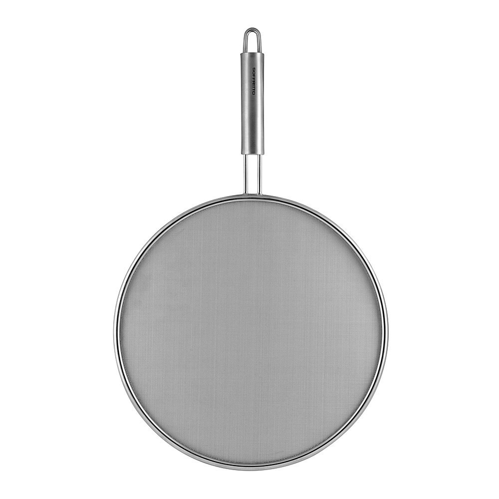 Soffritto A Series Stainless Steel Splatter Screen 28cm Silver