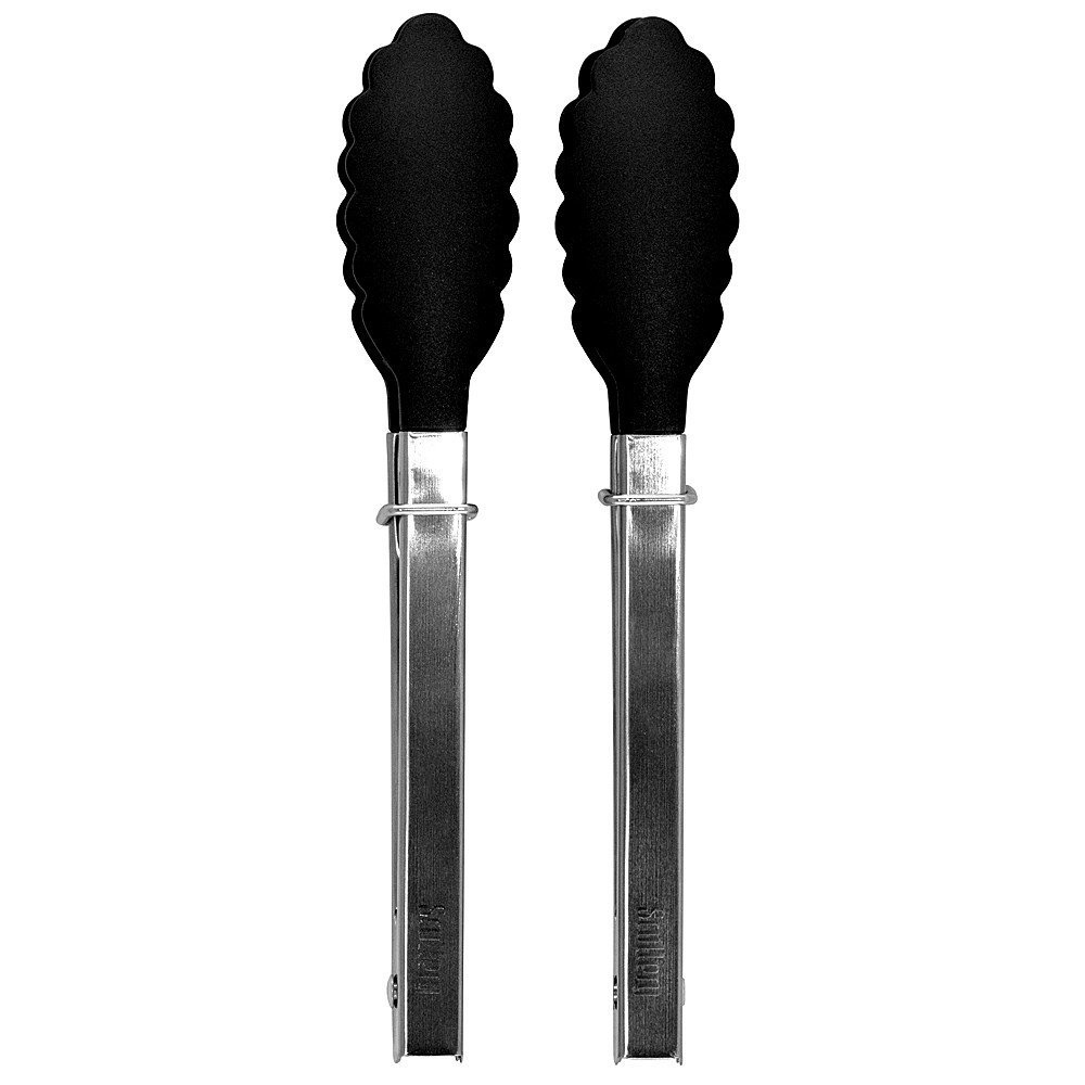Scullery Essentials 2-Piece Stainless Steel Mini Tongs Set