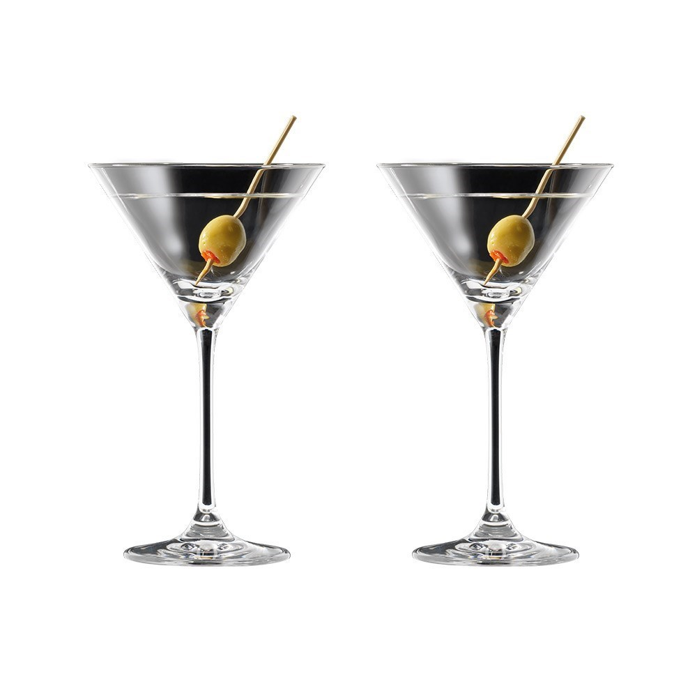 Cellar Premium 2 Piece Martini Glass Set 210ml