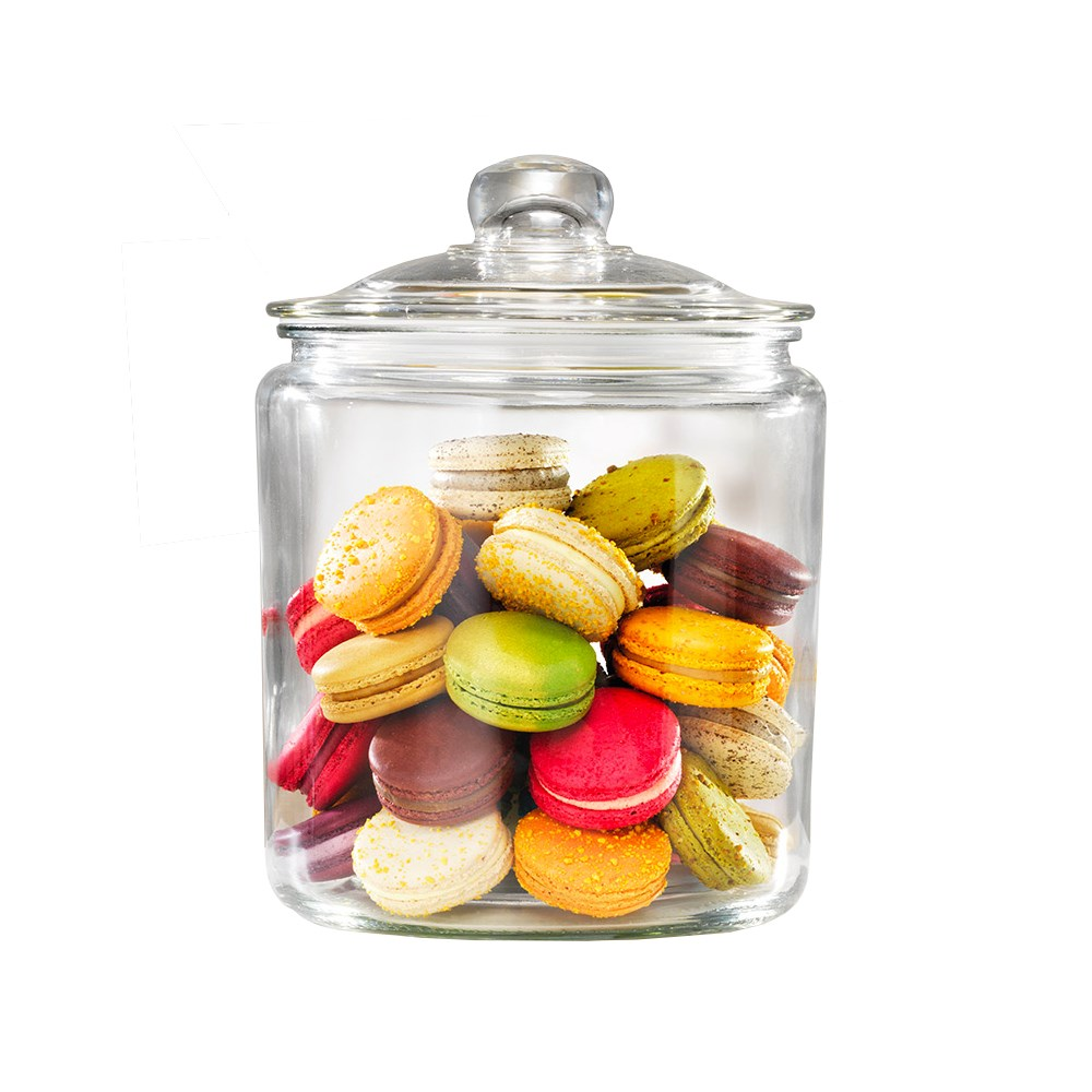 Ambrosia Cookie Jar Glass Canister 3.9L