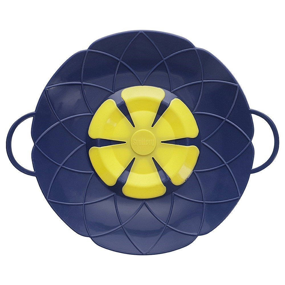 Scullery Kolori Silicone No Spill Lid 25.5cm Navy