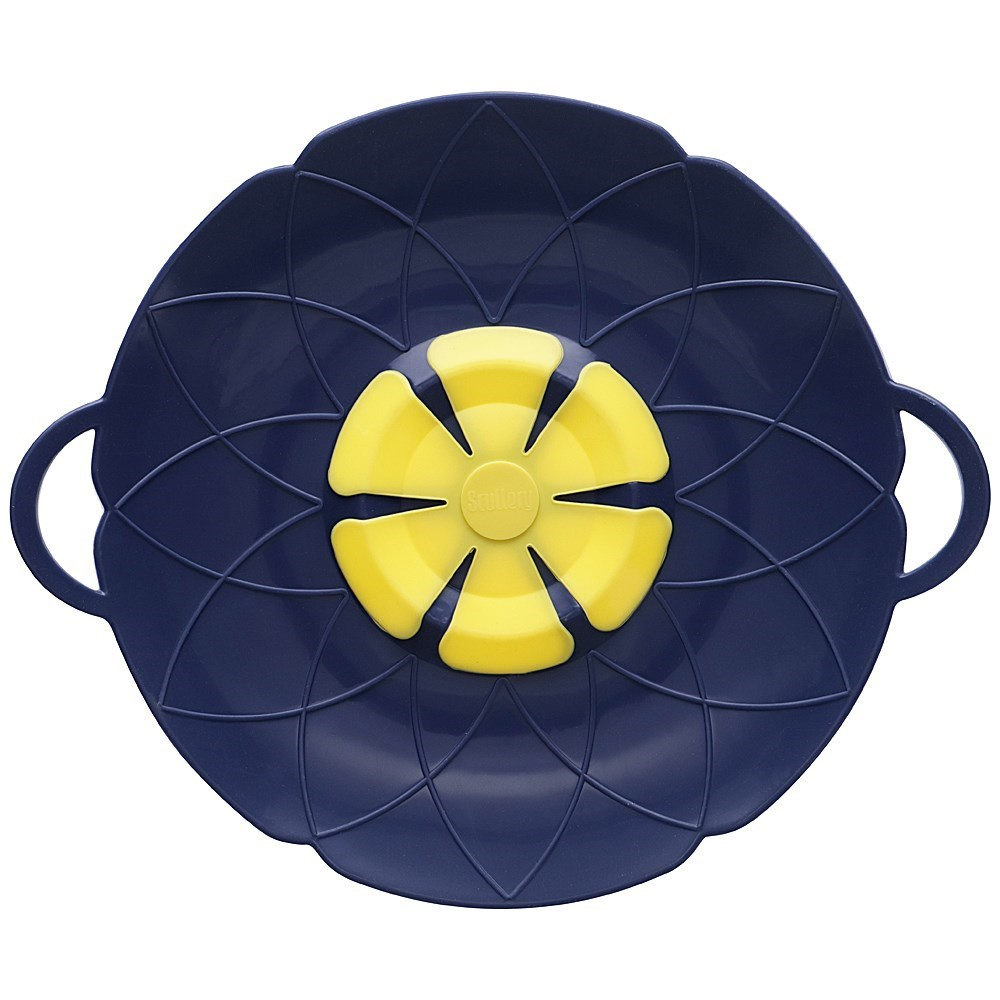 Scullery Kolori Silicone No Spill Lid 29.5cm Navy