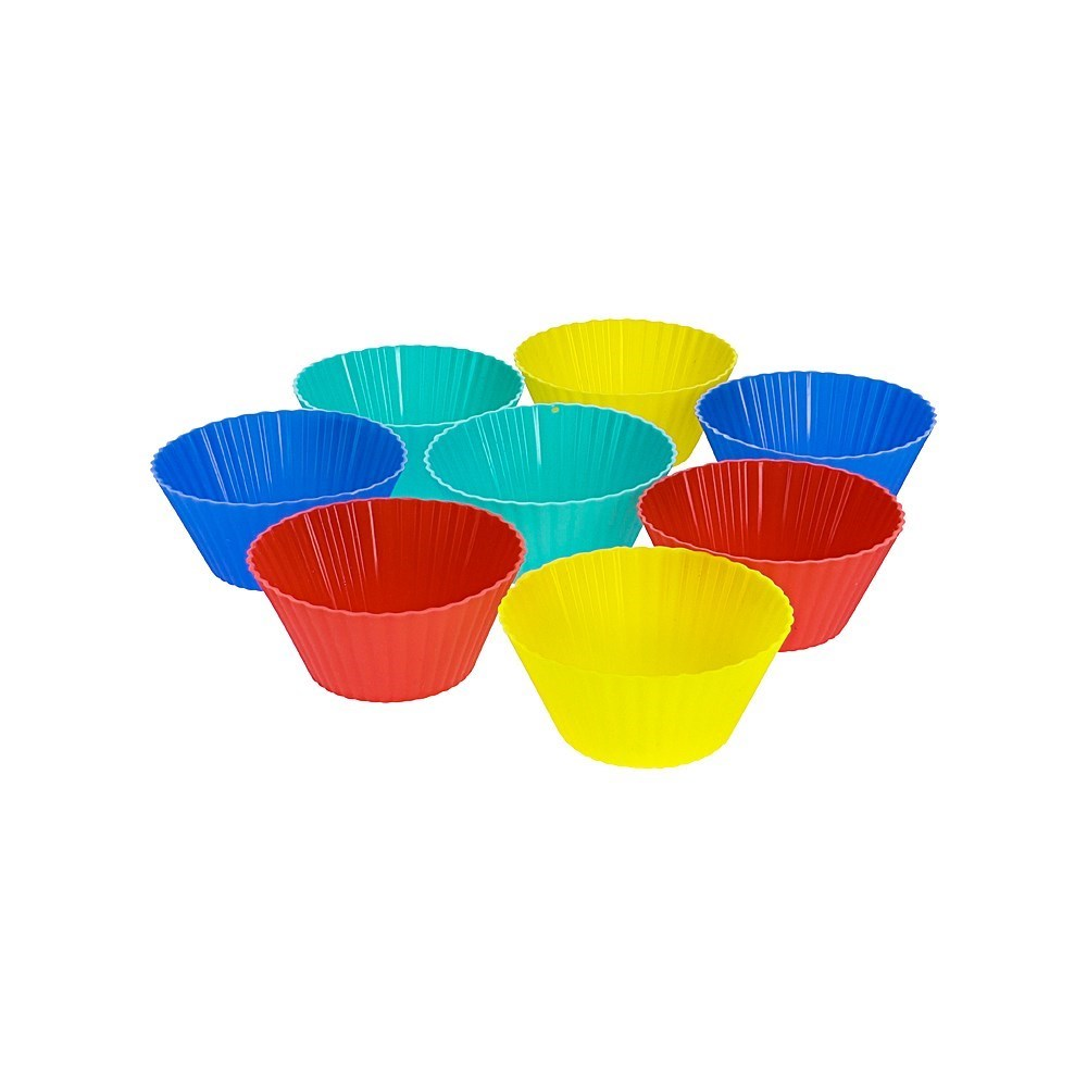 Soffritto Professional Bake Silicone 12 Piece Muffin Cup Set