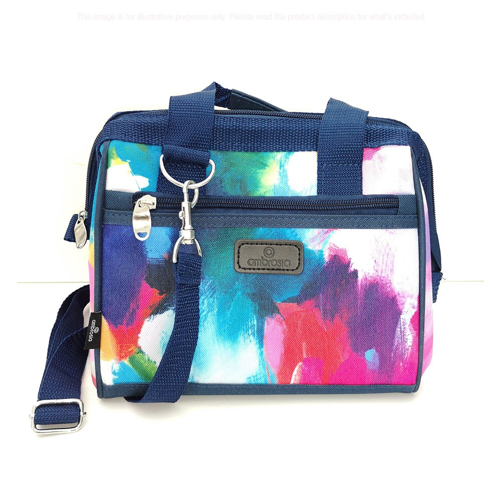 Ambrosia Aster by Camilla Cicoria Lunch Bag 23L/19.5 x 22cm