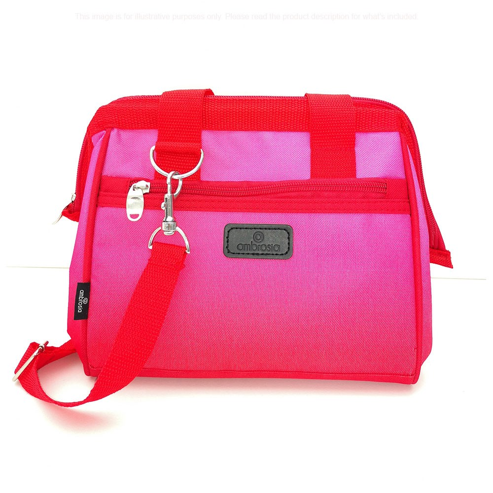 Ambrosia Aster Lunch Bag 23L/19.5 x 22cm Pink Ombre