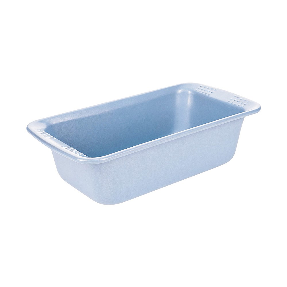 Soffritto Commercial Non-Stick Carbon Steel Loaf Pan 21 x 12 x 6cm Teal