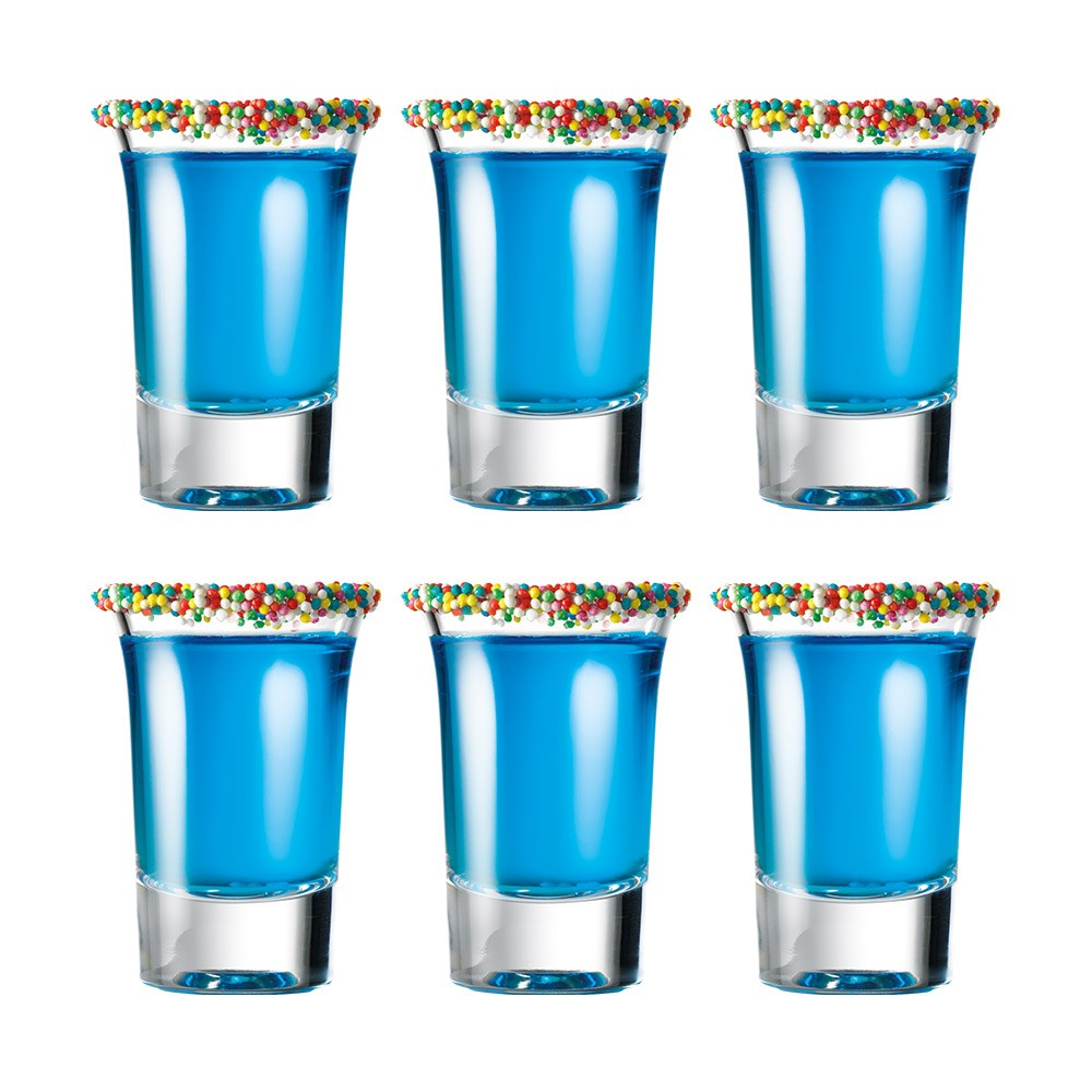 Cellar Tonic 6 Piece Shot Glass Set 34ml Clear