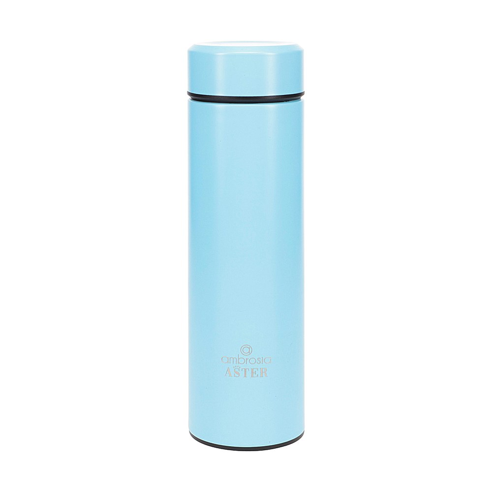 Ambrosia Aster Double Wall Stainless Steel Drink Bottle 450ml Aqua