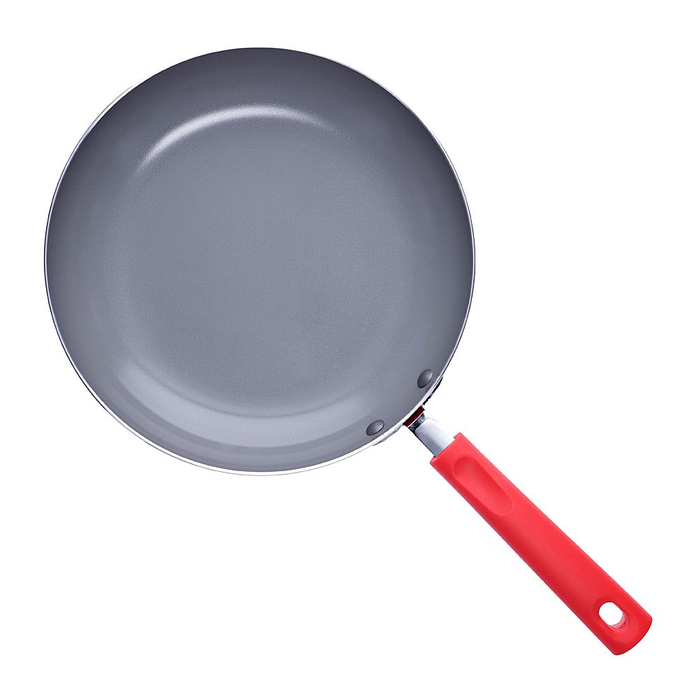 Scullery Kolori Ceramic Non Stick Frypan 26cm Red