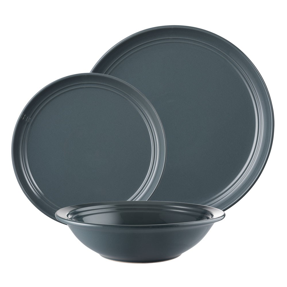 Ambrosia Arlo Dinner Set 12 Piece Grey