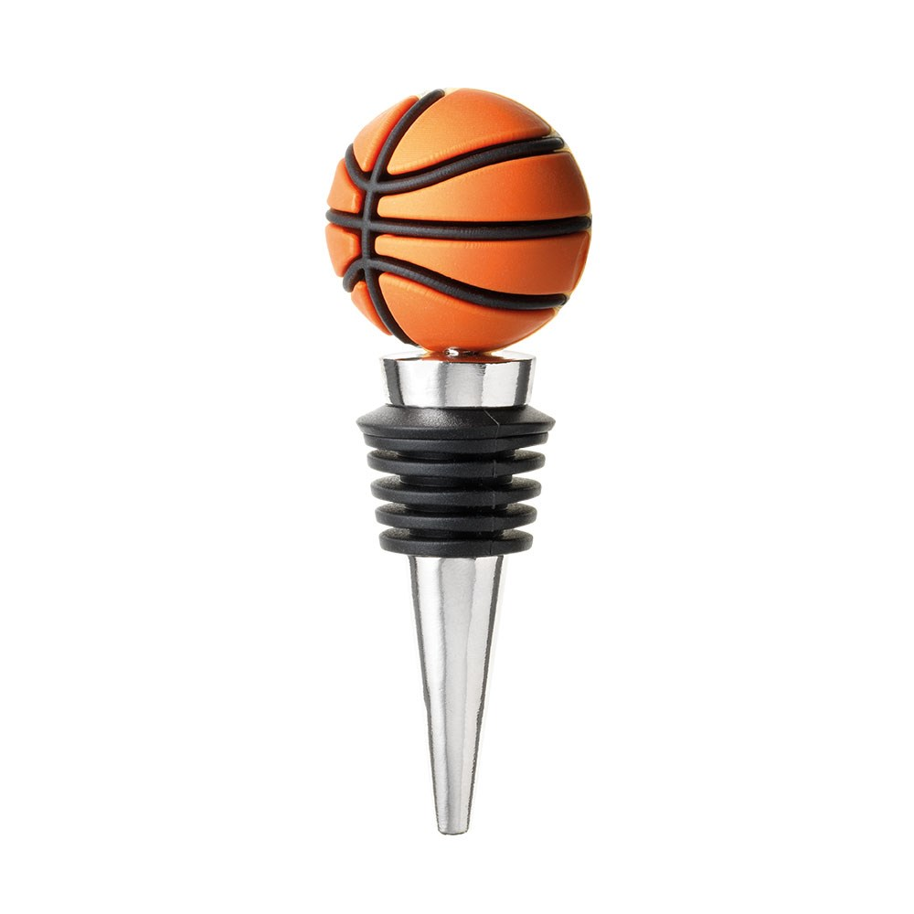 Cellar Basketball Wine Bottle Stopper