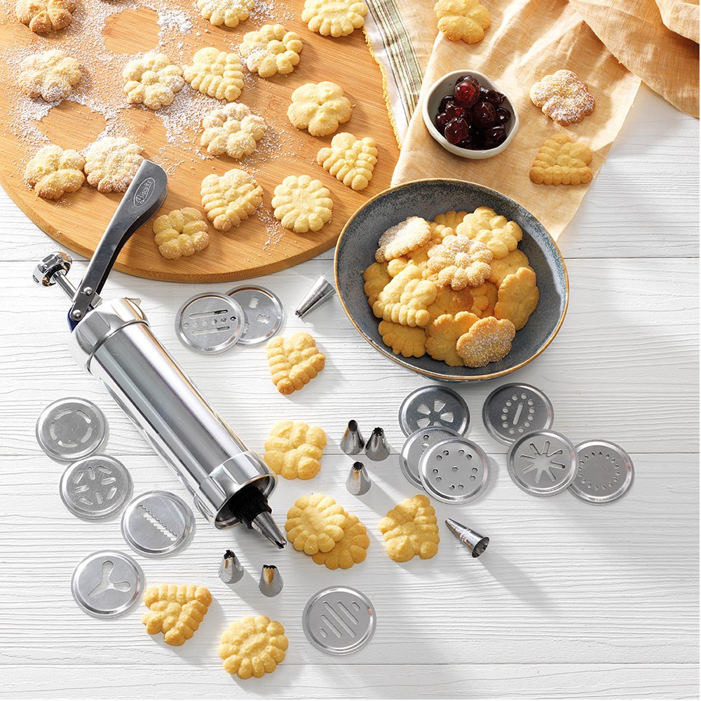 Soffritto Professional Bake Cookie Press Icing Set 21 Piece