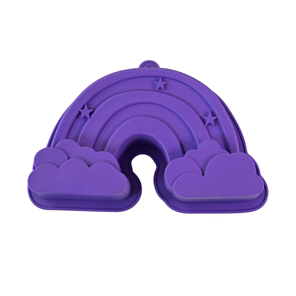 Soffritto Professional Bake Novelty Silicone Cake Pan Rainbow