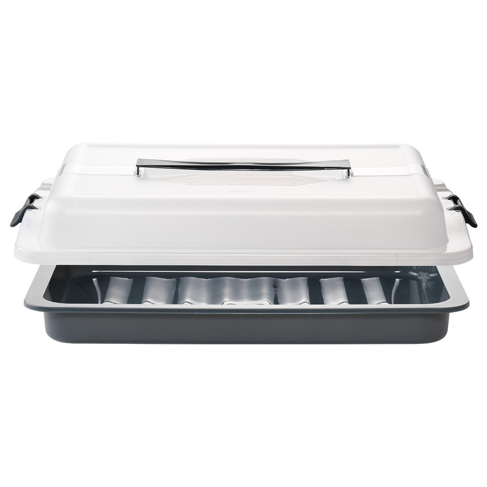 Soffritto Professional Bake Rectangle Cake Carrier 42.5 x 29 x 8.5cm