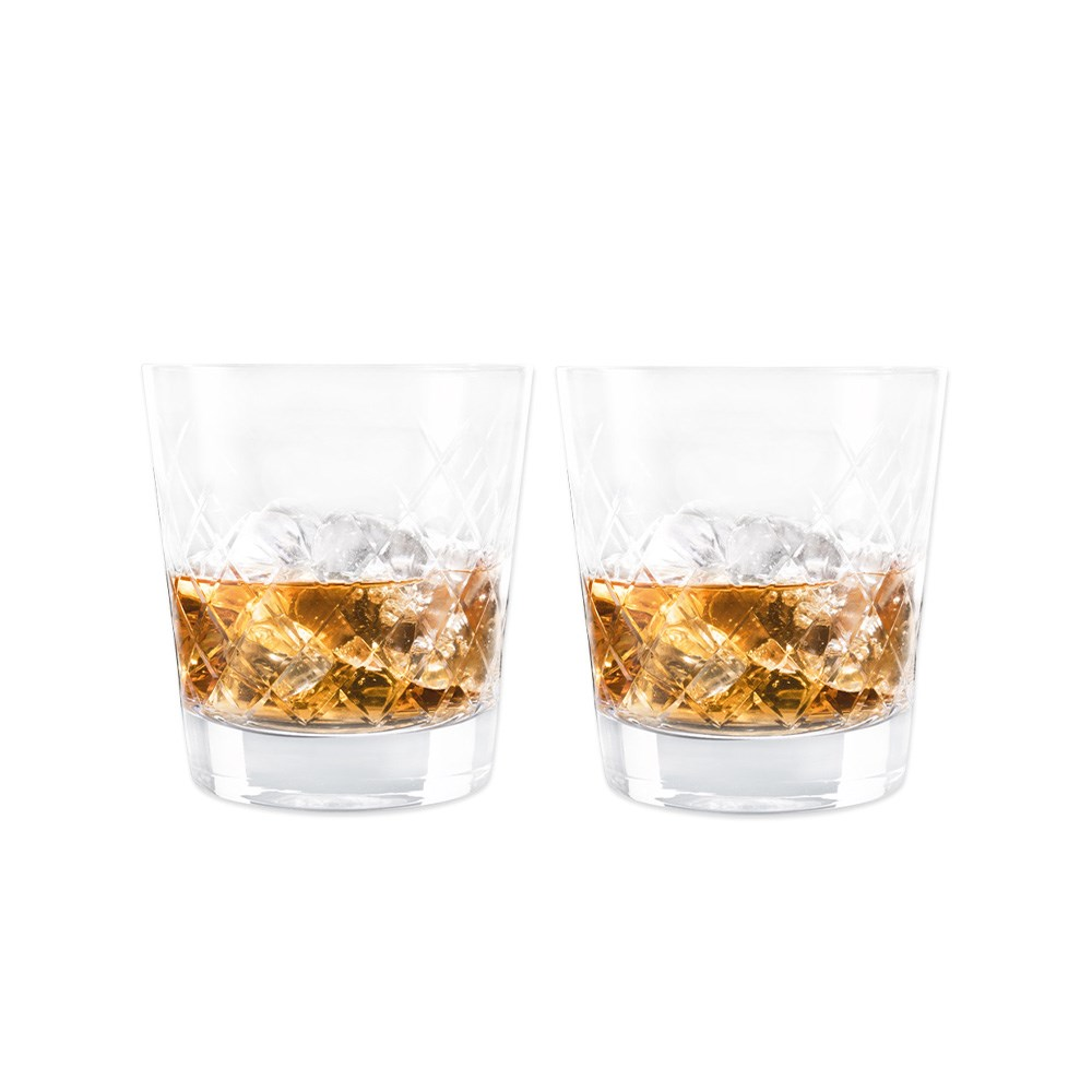 Cellar Premium Set of 2 Double Old Fashion Glass