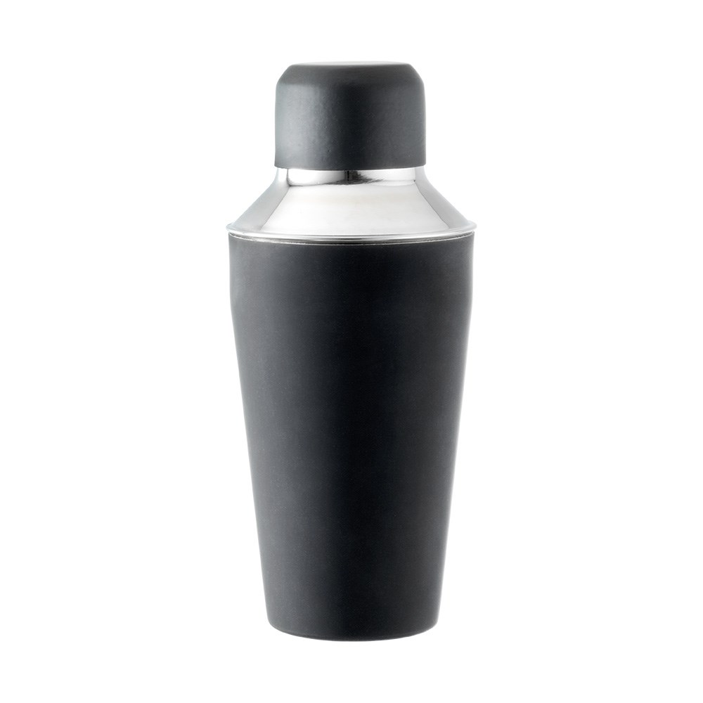 Cellar Tonic Stainless Steel Cocktail Shaker Black