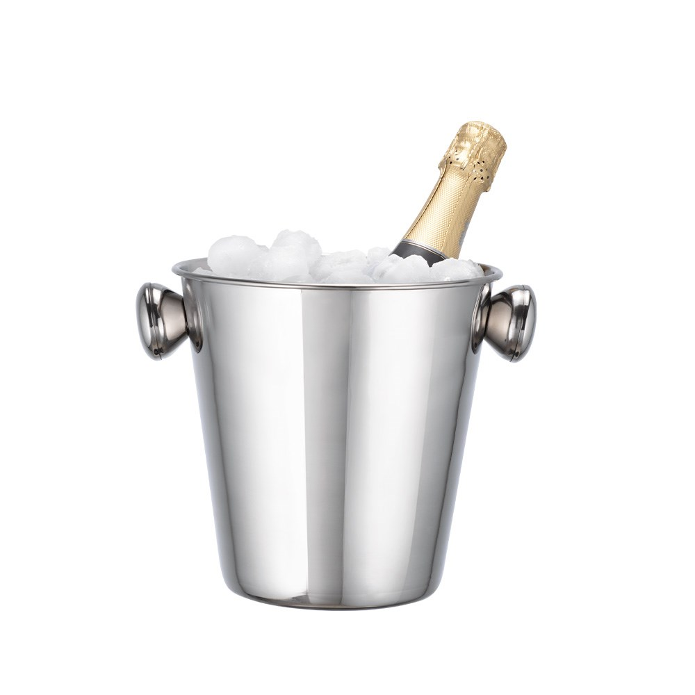 Cellar Tonic Stainless Steel Wine Bucket Silver