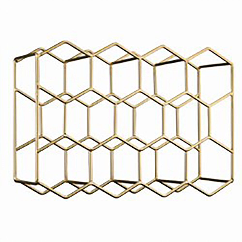 Cellar Premium Luxe Hexagon Wine Rack
