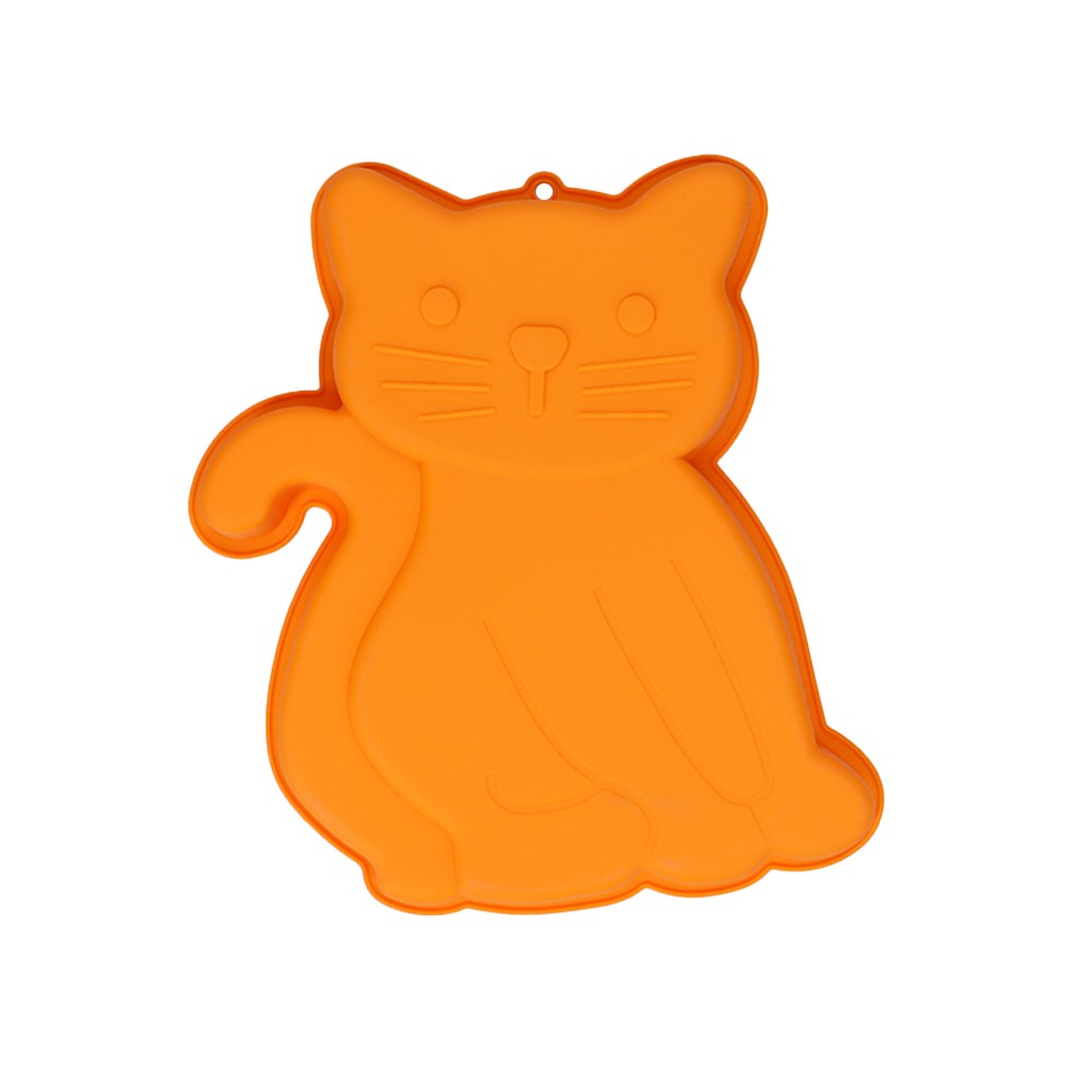 Soffritto Professional Bake Novelty Silicone Cake Pan Cat