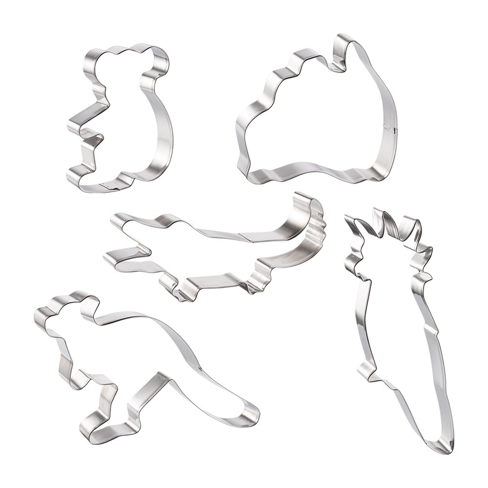 Soffritto Professional Bake Cookie Cutter Set of 5 Australia