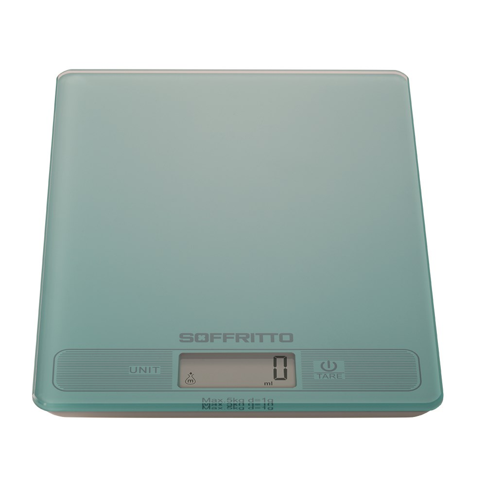 Soffritto Tina Digital Scale Teal