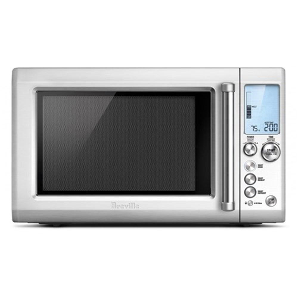 Breville Quick Touch Microwave Stainless Steel