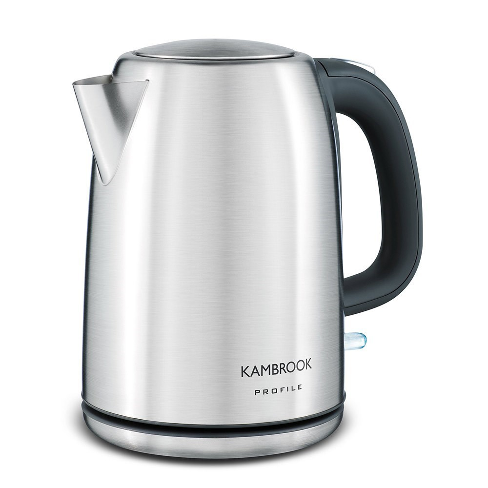Kambrook Profile Stainless Steel Kettle 1.7L Silver