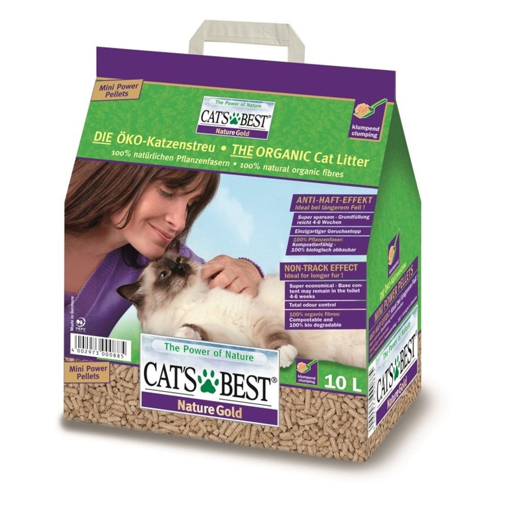 Cat's Best Nature Gold Cat Litter 10 Litre 5kg