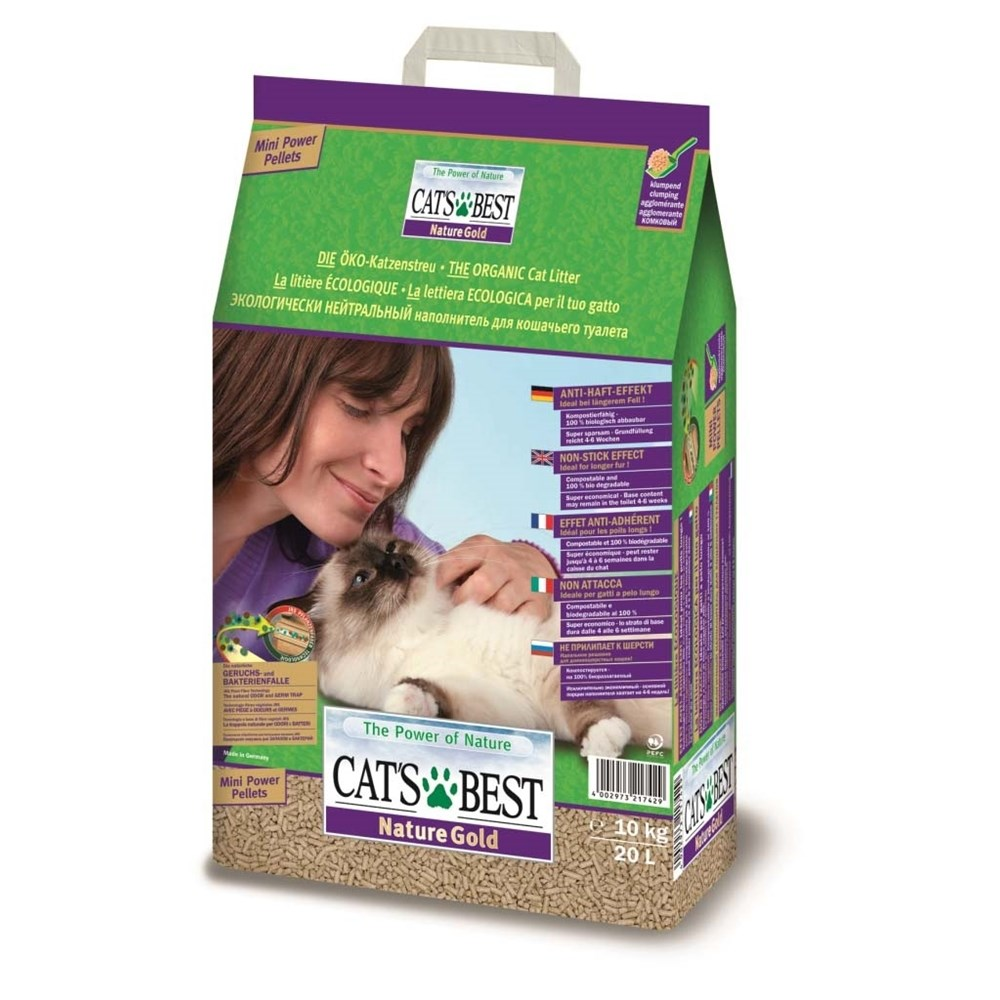 Cat's Best Nature Gold Cat Litter 20 Litre 10kg