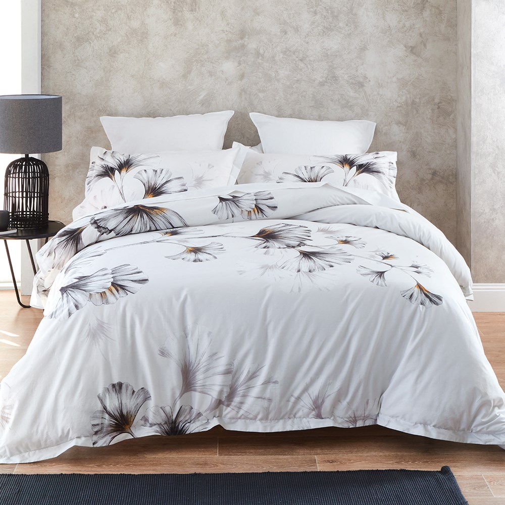 Milan Quilt Cover Set Double