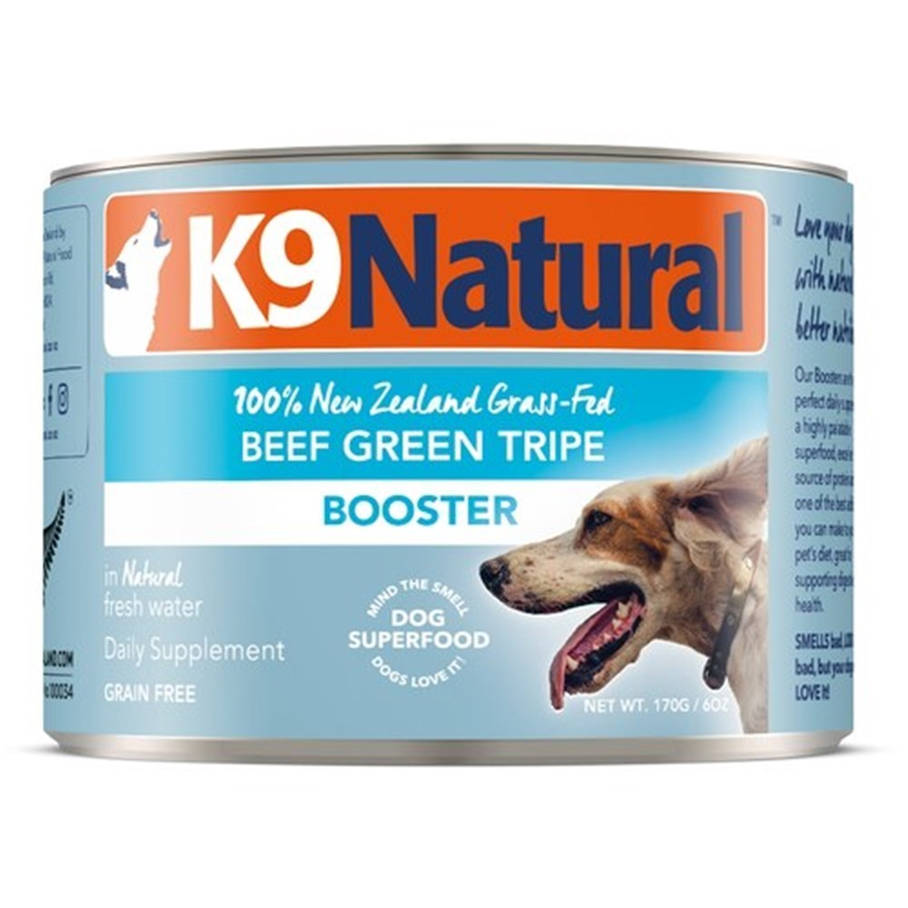 K9 Natural Canned Beef Green Tripe Feast Dog Food 24x170g