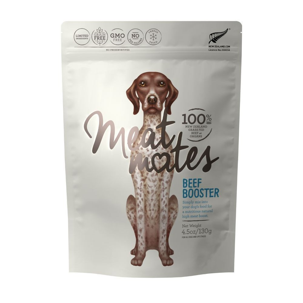 Meat Mates Dog Food Beef Booster 130g