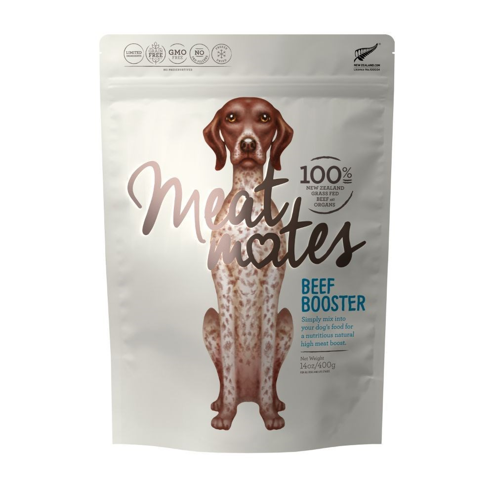 Meat Mates Dog Food Beef Booster 400g