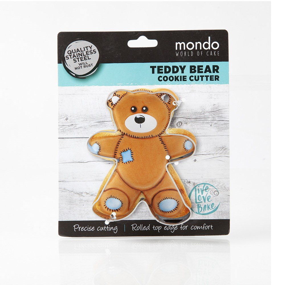 Mondo Teddy Bear Cookie Cutter