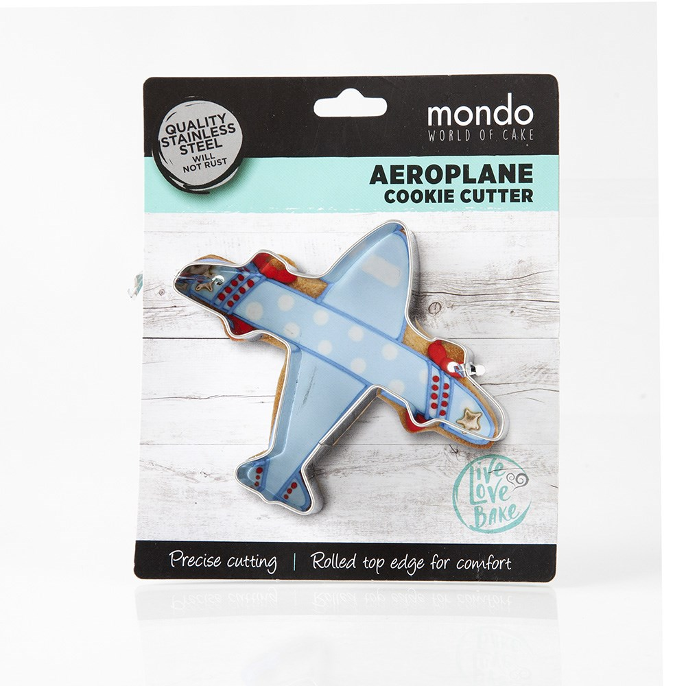 Mondo Aeroplane Cookie Cutter