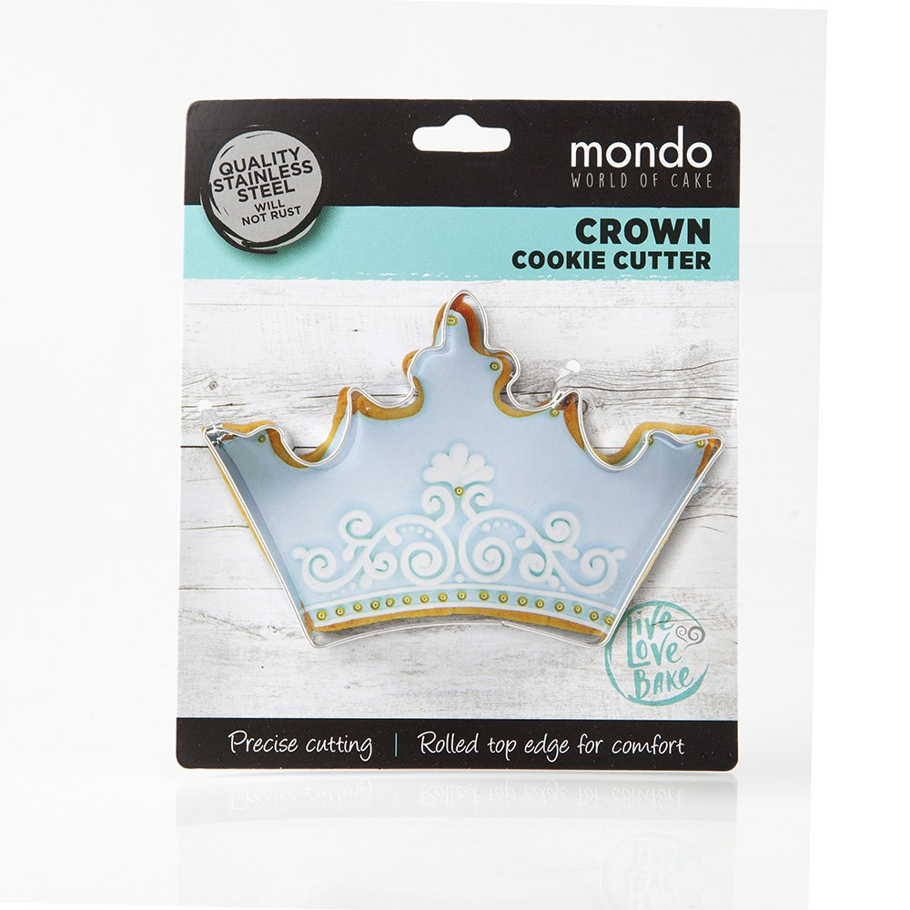 Mondo Crown Cookie Cutter