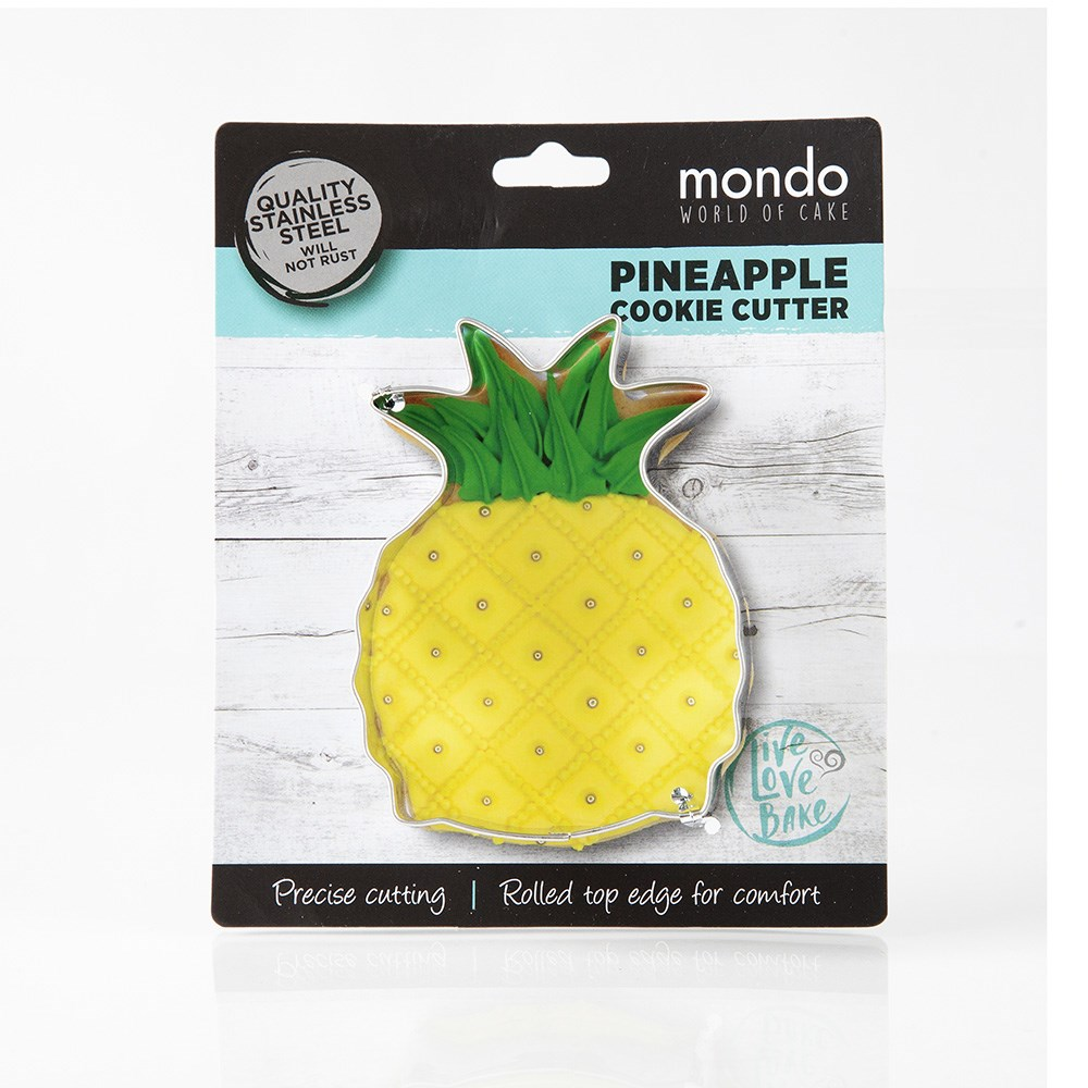 Mondo Pineapple Cookie Cutter