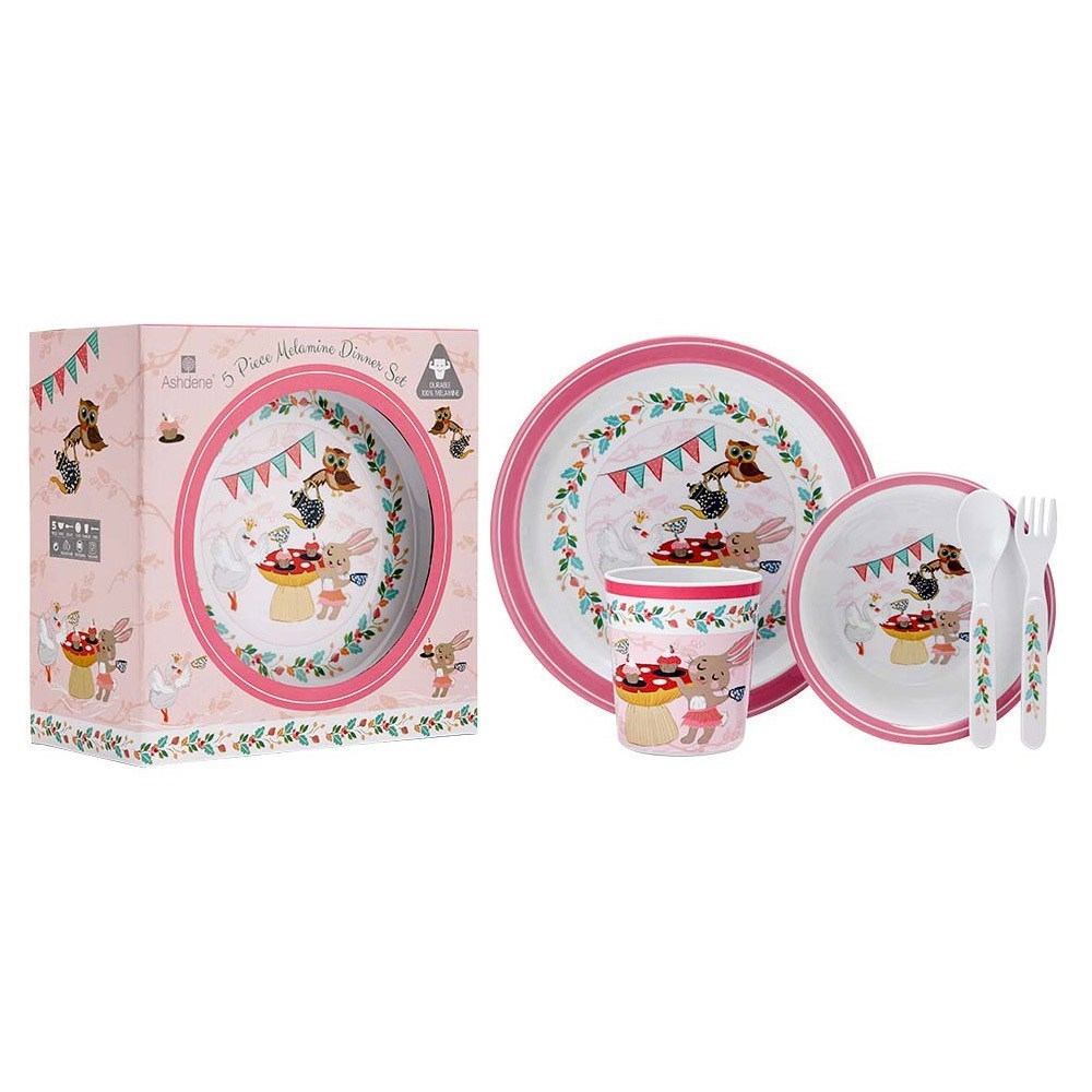 Ashdene Tea Party 5 Piece Children's Dinner Set