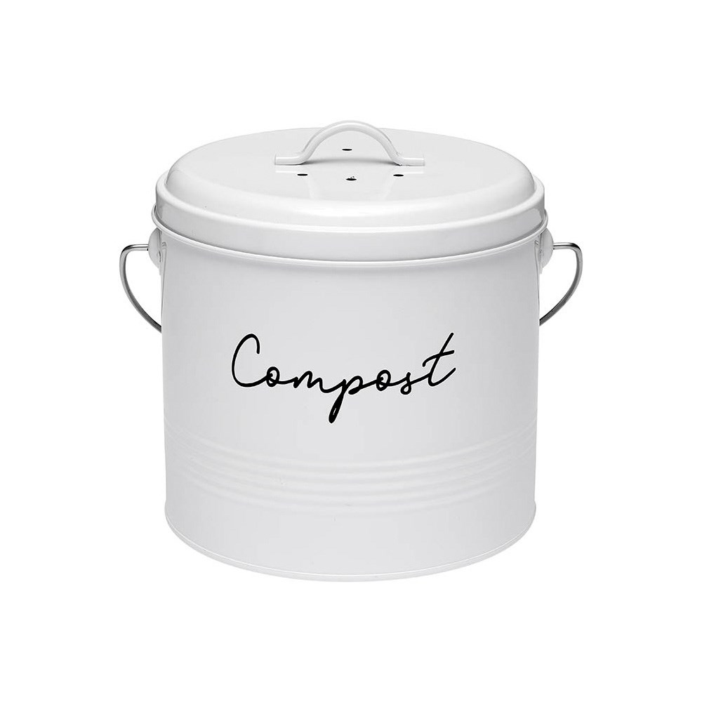 Ladelle Eco White Compost Bin
