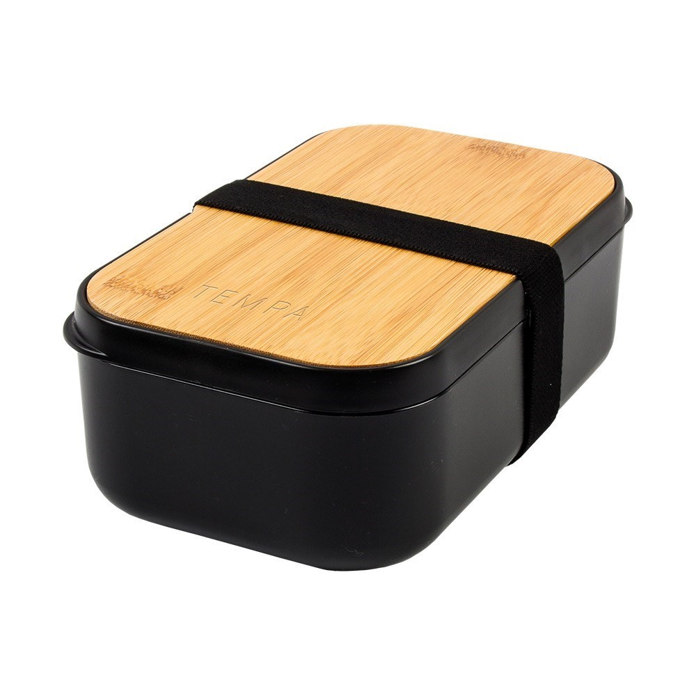 Ladelle Tempa Bento Lunch Box Black