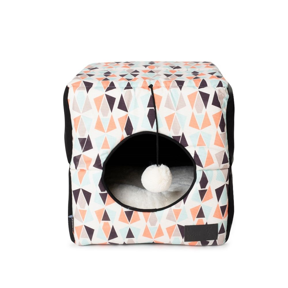 La Doggie Vita Geo Cube Cat Bed