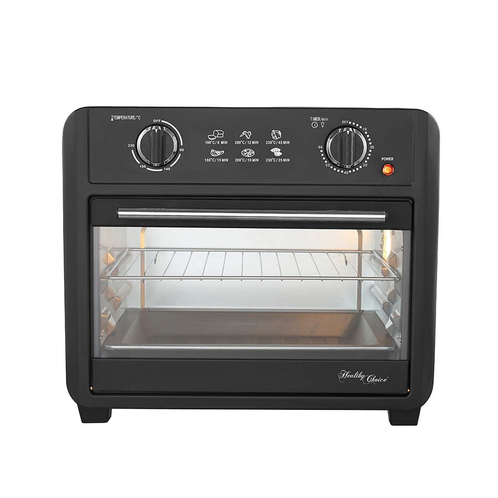 Healthy Choices Air Fryer Oven 23L Black