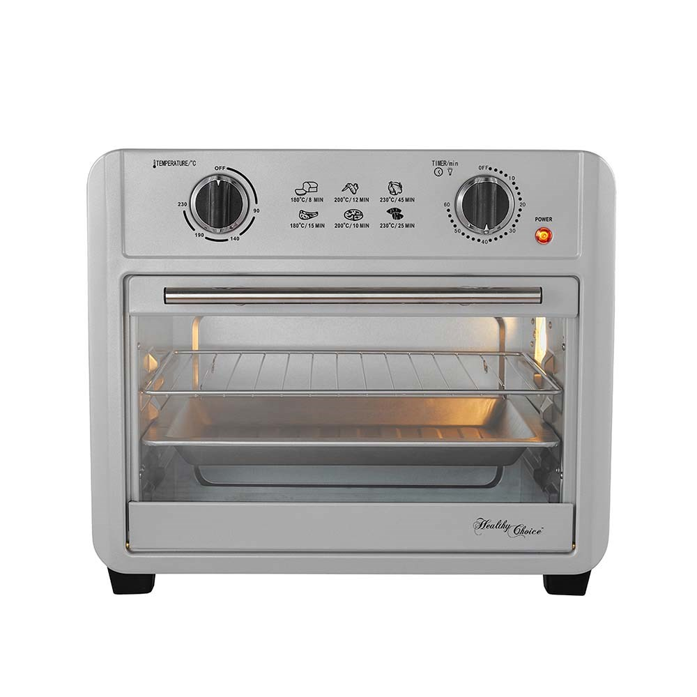 Healthy Choices Air Fryer Oven 23L Silver