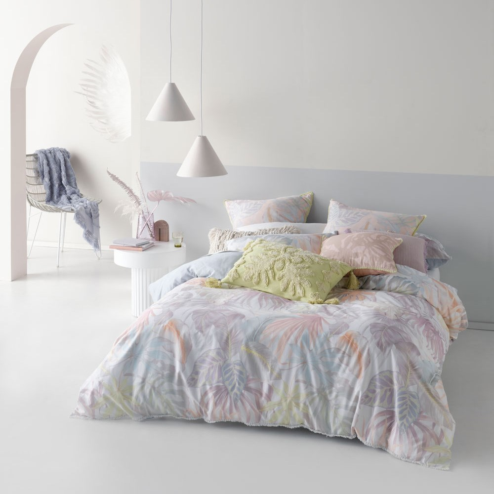Linen House Utopia Sky King Bed Quilt Cover Set