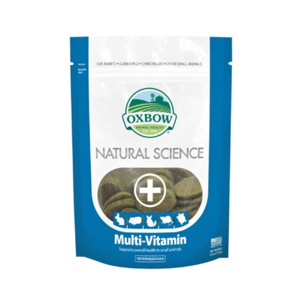 Oxbow Natural Science Multi Vitamin Supplement 60 Pack