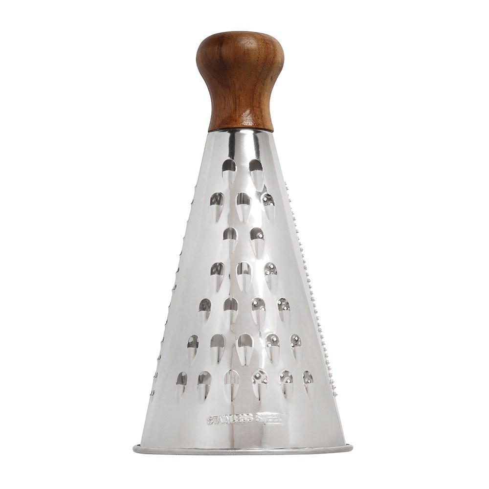 Stanley Rogers Stainless Steel & Acacia Wood Cone Grater
