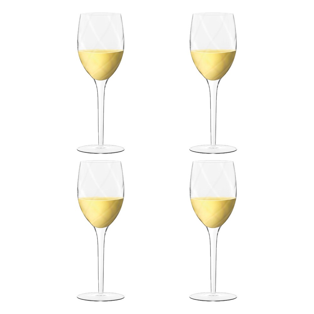 Luigi Bormioli Canaletto White Wine Glass 275ml Set of 4