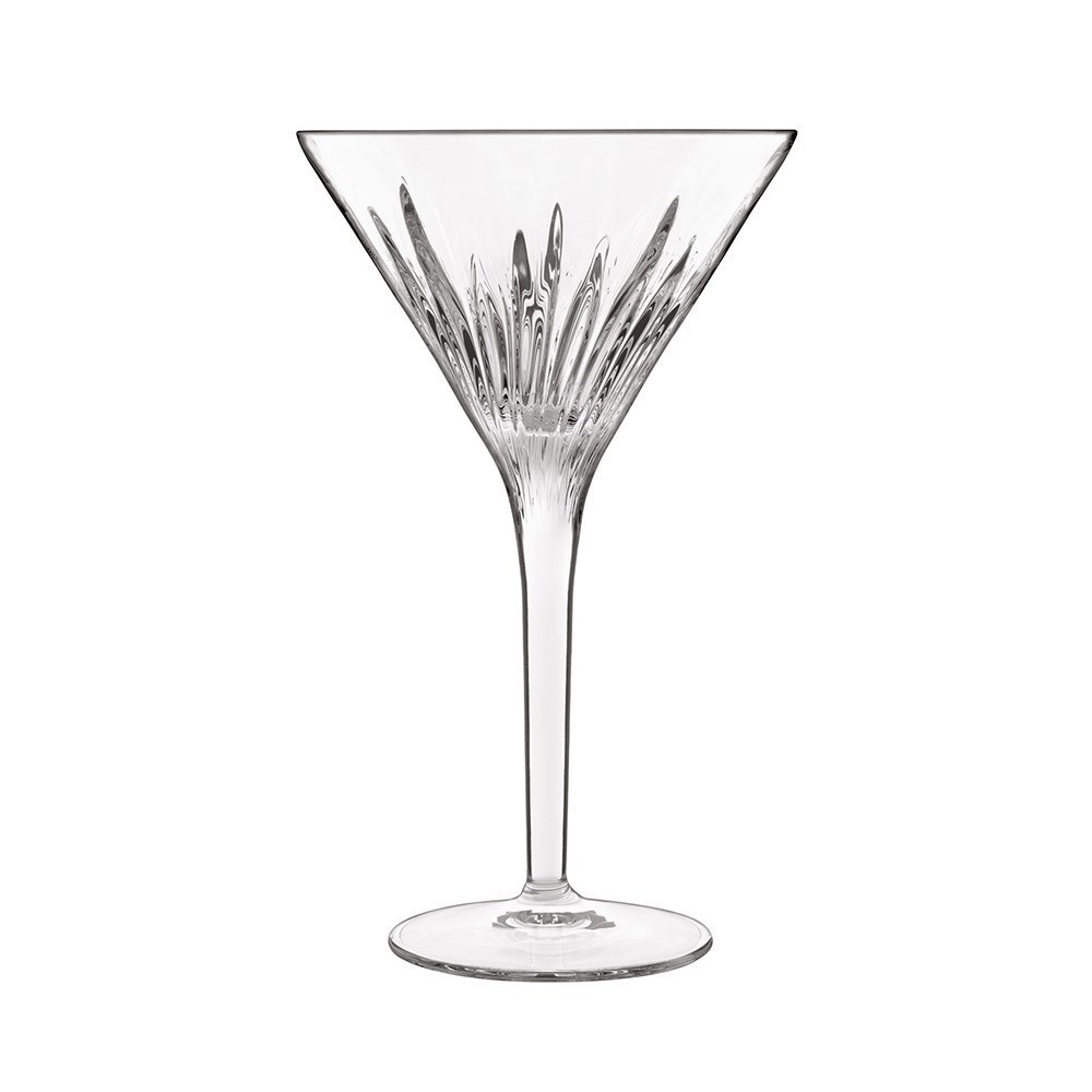 Luigi Bormioli Mixology Martini Crystal Glass 215ml Set of 4