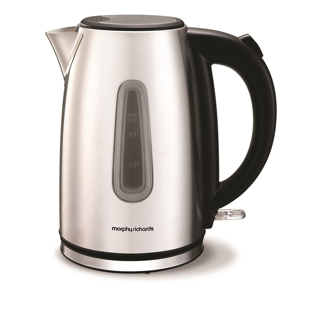 Morphy Richards Equip Stainless Steel 1.7L Jug Kettle